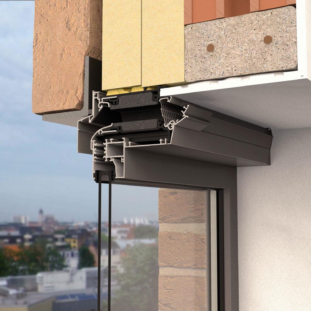 Mřížka Invisivent má výborné hlukově izolační vlastnosti a i v otevřené poloze plní parametry oken s hlukovou izolací