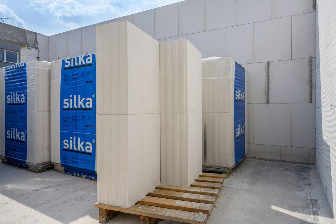 Silka Tempo byla zvolena jako optimální řešení pro mezibytové stěny