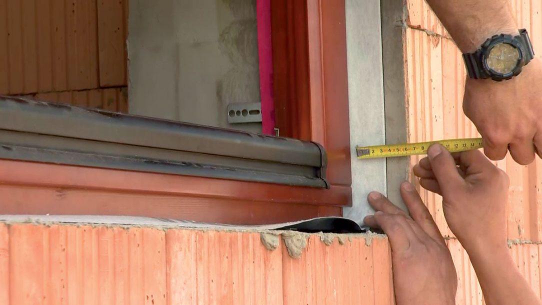 Správná hloubka usazení oken eliminuje tepelné zráty