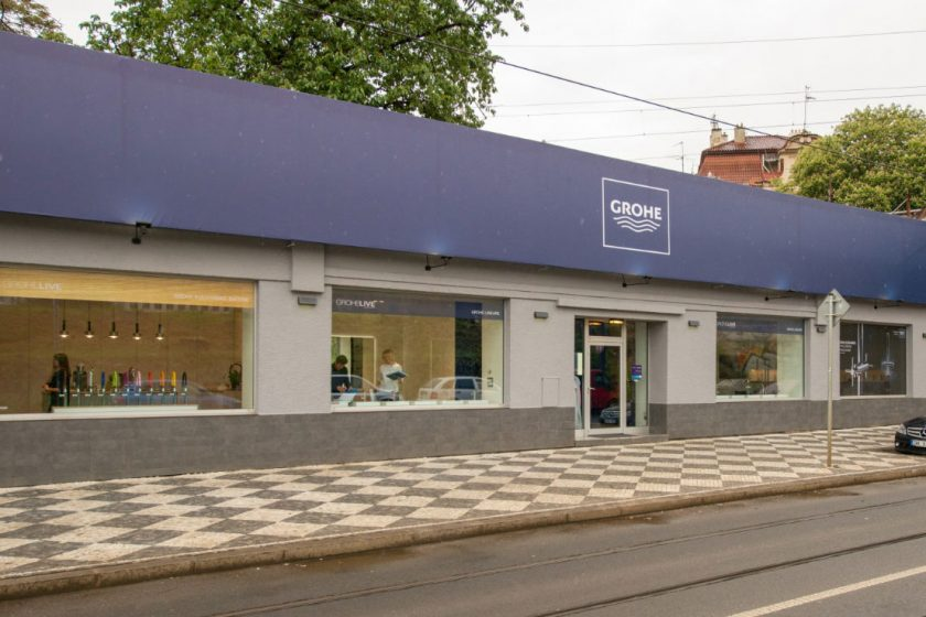 showroom GROHE Live centrum