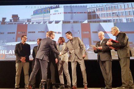 Projekt Nová válcovna získal prestižní ocenění Stavba roku Zlínského kraje v kategorii Průmyslových a zemědělských staveb.