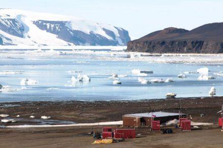 Testováno v Antarktidě