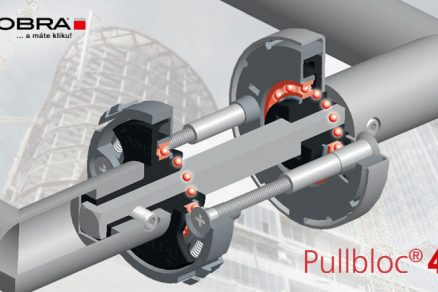 Dveřní kování s ložiskem PullBloc® 4.1
