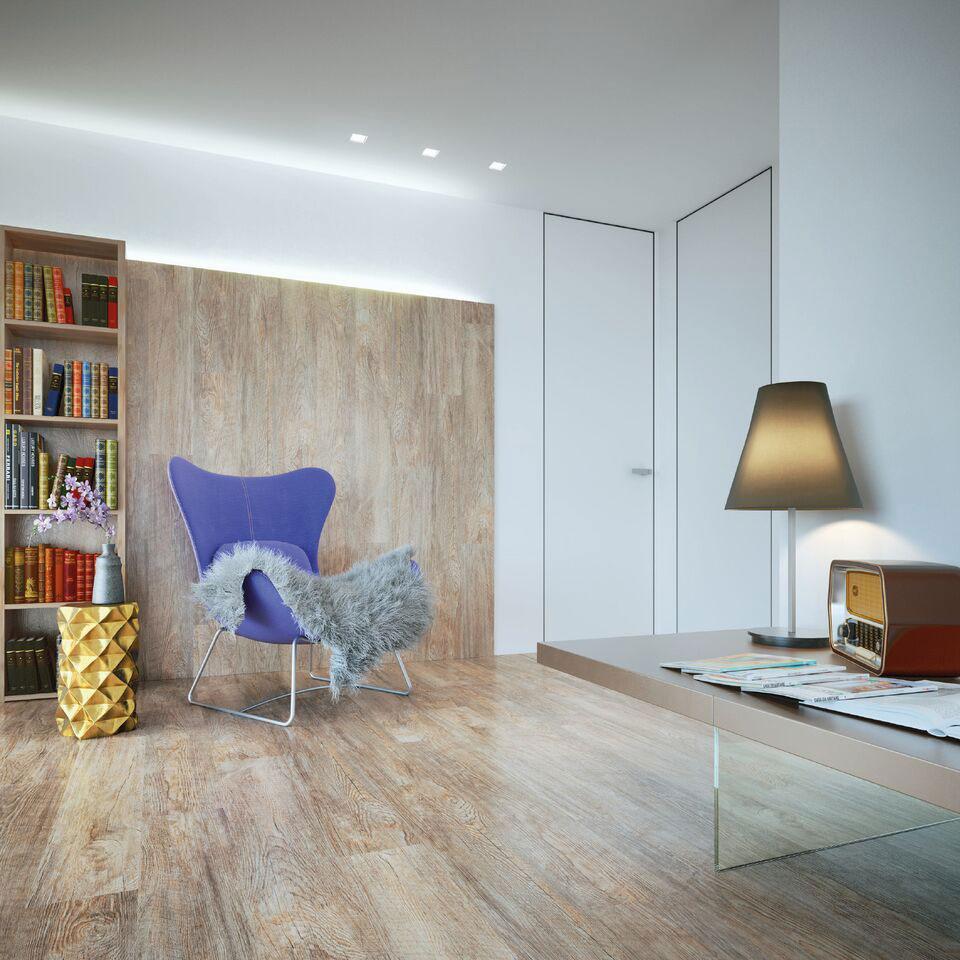 Designová vinylová stěna v obývacím pokoji