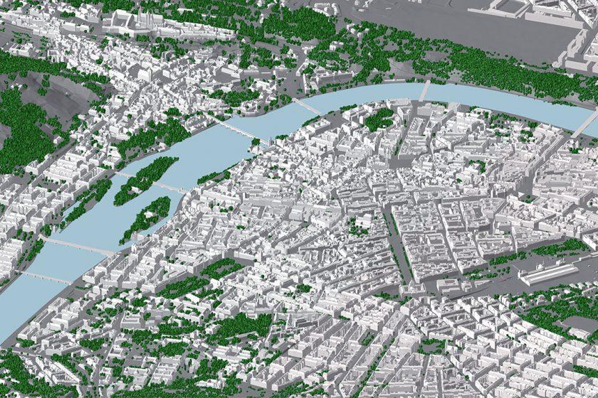 Vďaka IPR Praha disponuje napríklad aj podrobným 3D modelom mesta dokonca vrátane presne zakreslenej zelene.