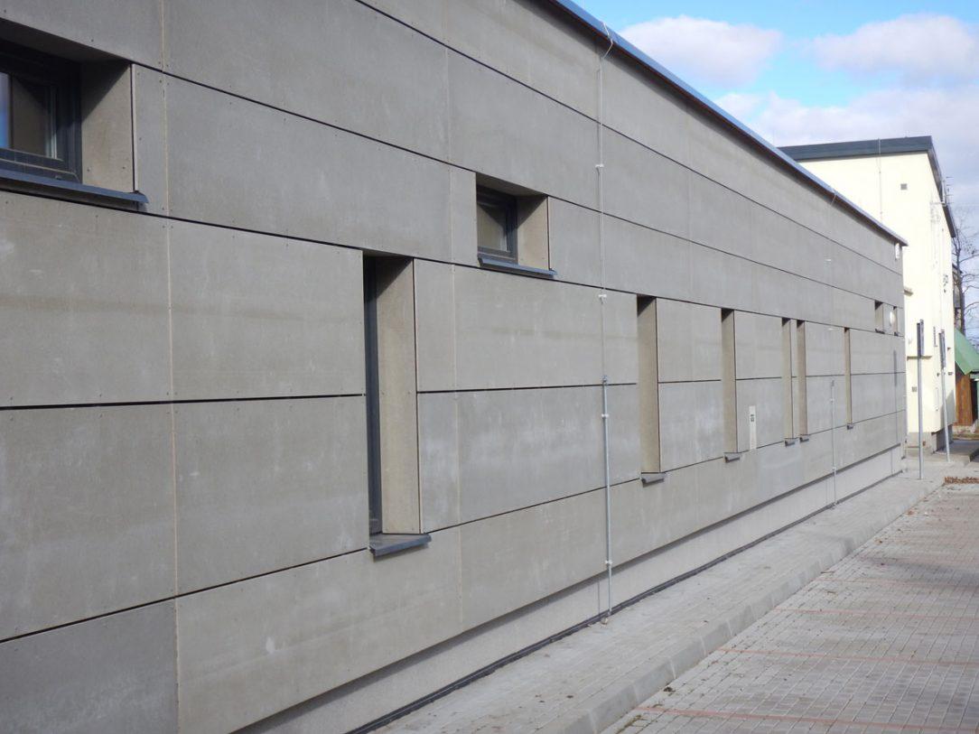 fasáda z cementotřískových desek CETRIS®