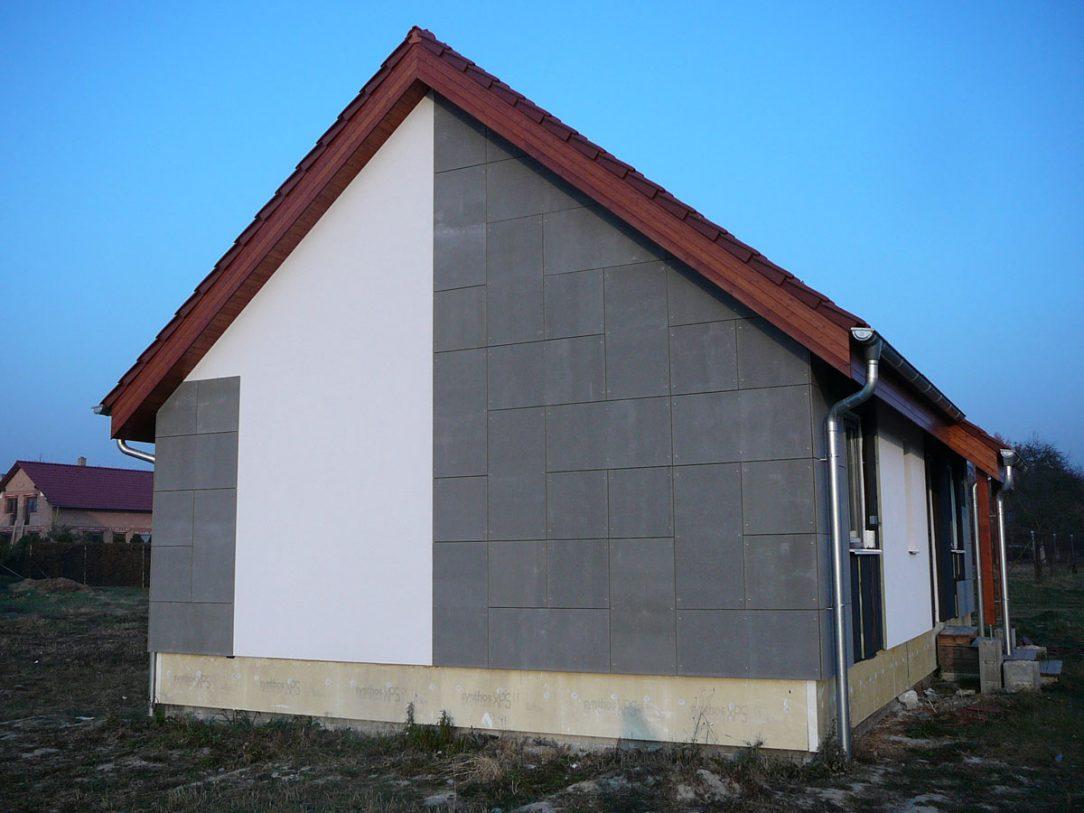 fasáda z cementotřískových desek CETRIS® 4