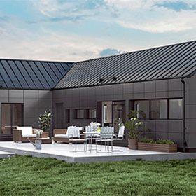 střecha Lindab SolarRoof