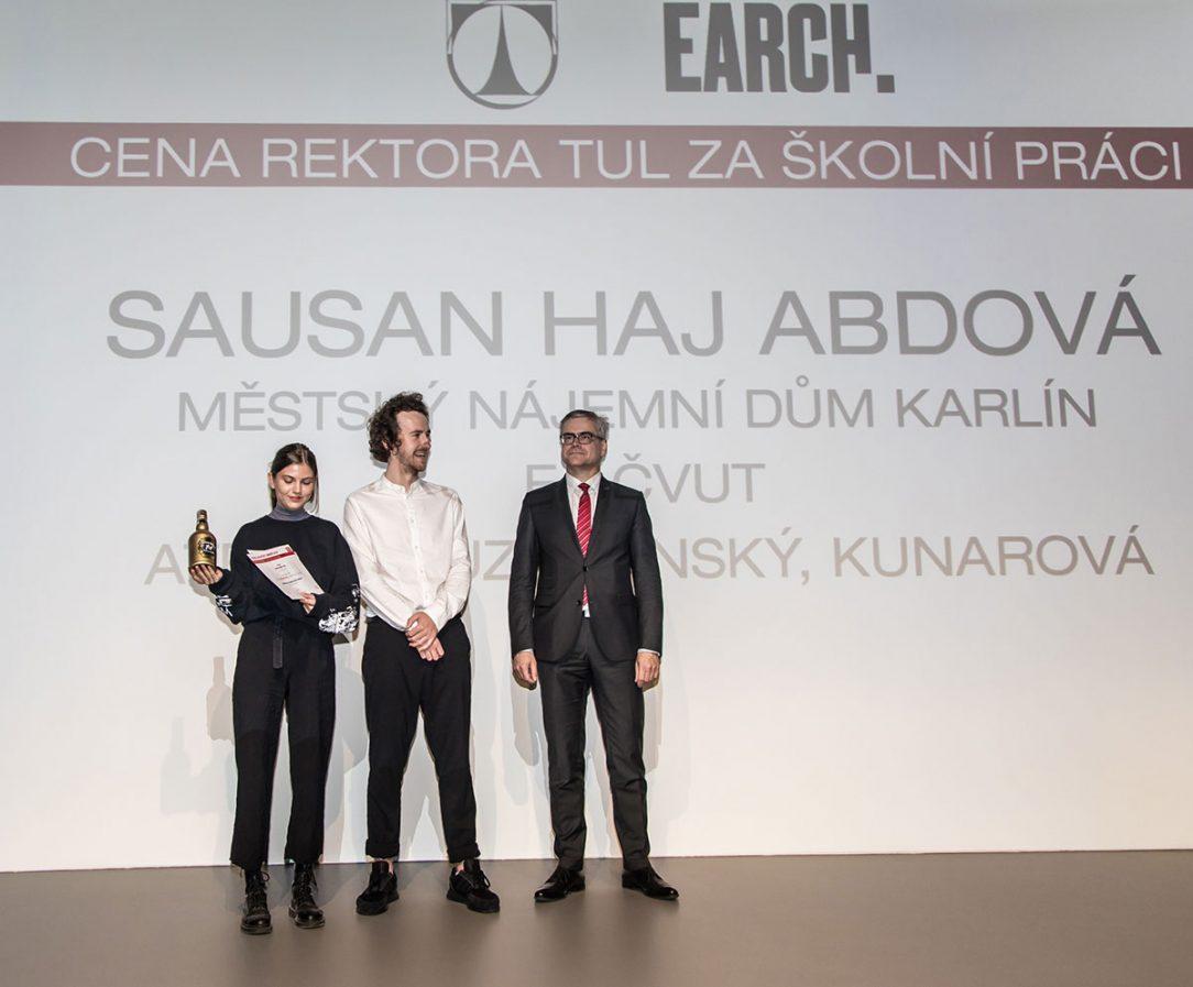 Cena Rektora TUL za školní práci