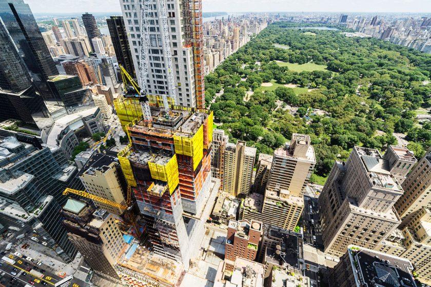 Novostavba Central Park Tower