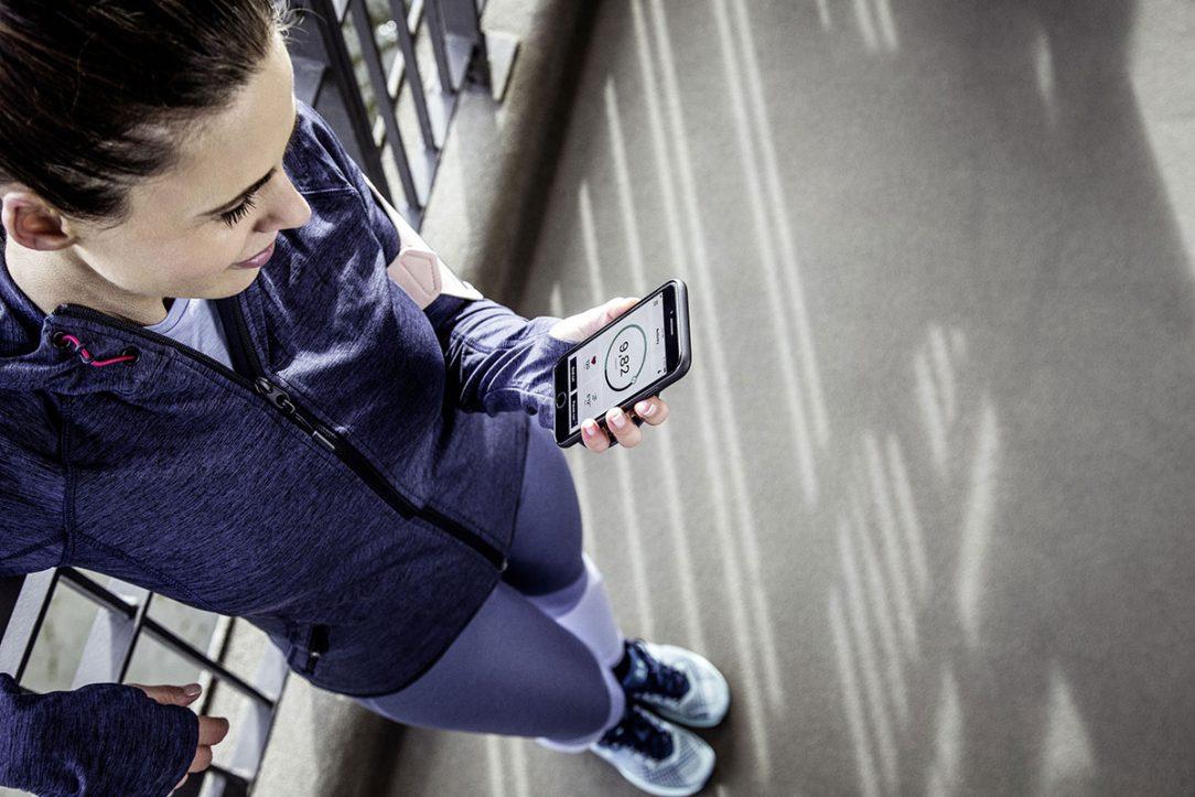 RE.GUARD lze samozřejmě kompletně ovládat na dálku pomocí aplikace na telefonu