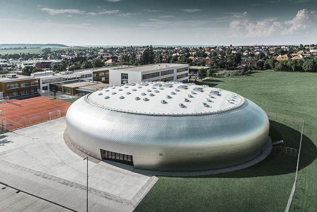 Sportovní hala v Dolních Břežanech 6