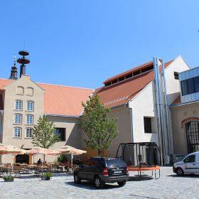 Zrekonstruovaná budova pivovaru