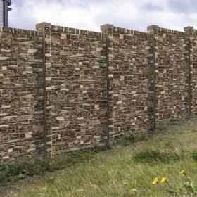 deskový plot imitující dřevo Opuka