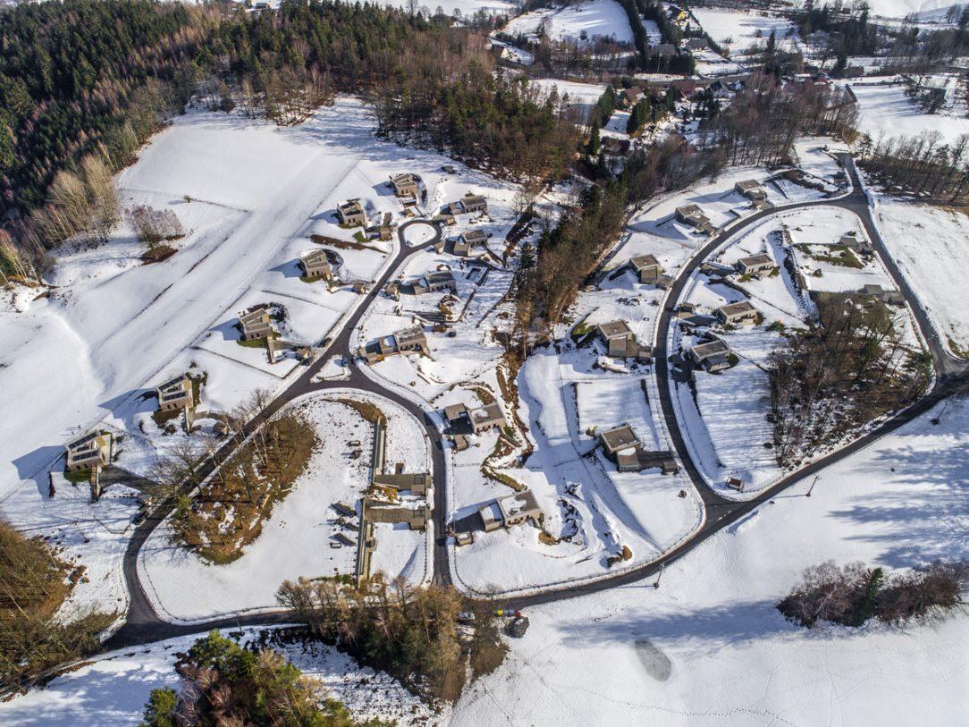 Nízkoenergetické domy Na Americe Mníšek u Liberce