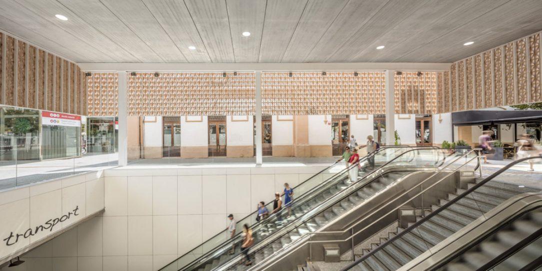 Nový vstup na železniční a autobusové nádraží v Palmě 02