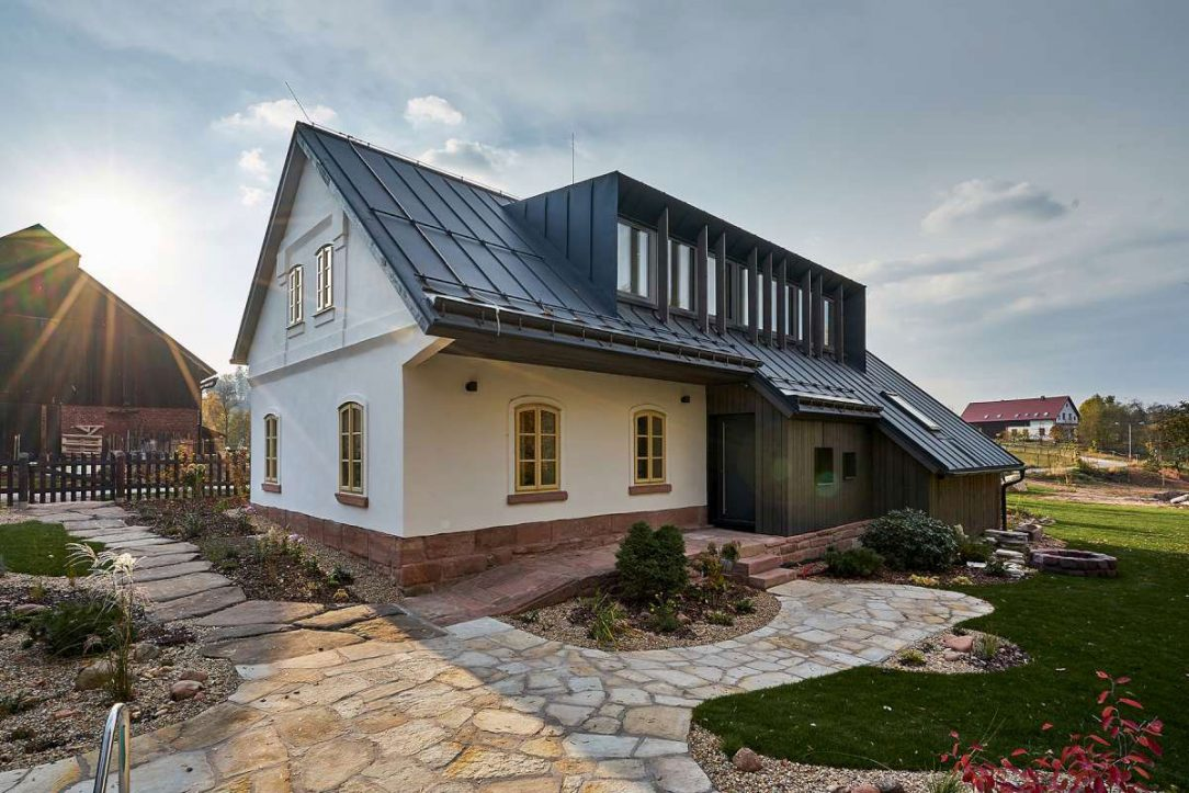Rekonstrukce domu v Podkrkonoší 19