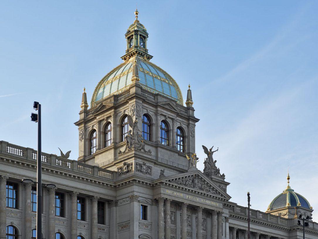 Rekonstrukce historické budovy Národního muzea Praha