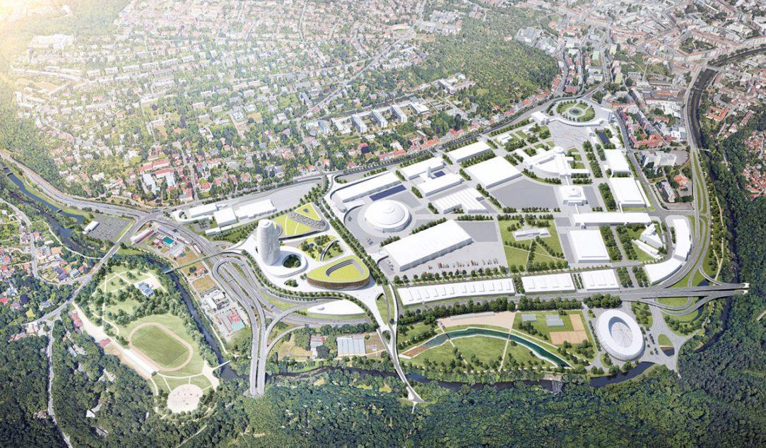Rozvoj brněnského výstaviště Brno