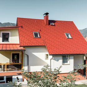 Střešní šindel DS.19 je ideální pro použití na klasické střechy