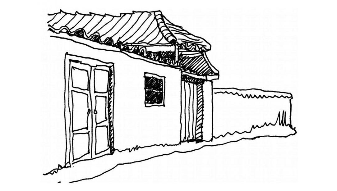 Tradiční venkovská architektura má prakticky vždy biofilní charakter harmonicky zapadá do prostředí.