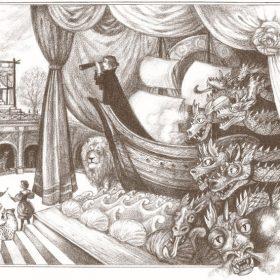 Ilustrace z románu Lvářka 2