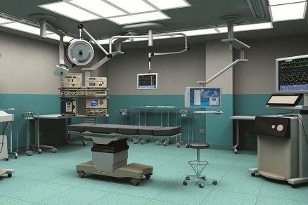 PVC podlaha v podobě dílců Elektrostatik se využívá i do laboratoří a nemocnic