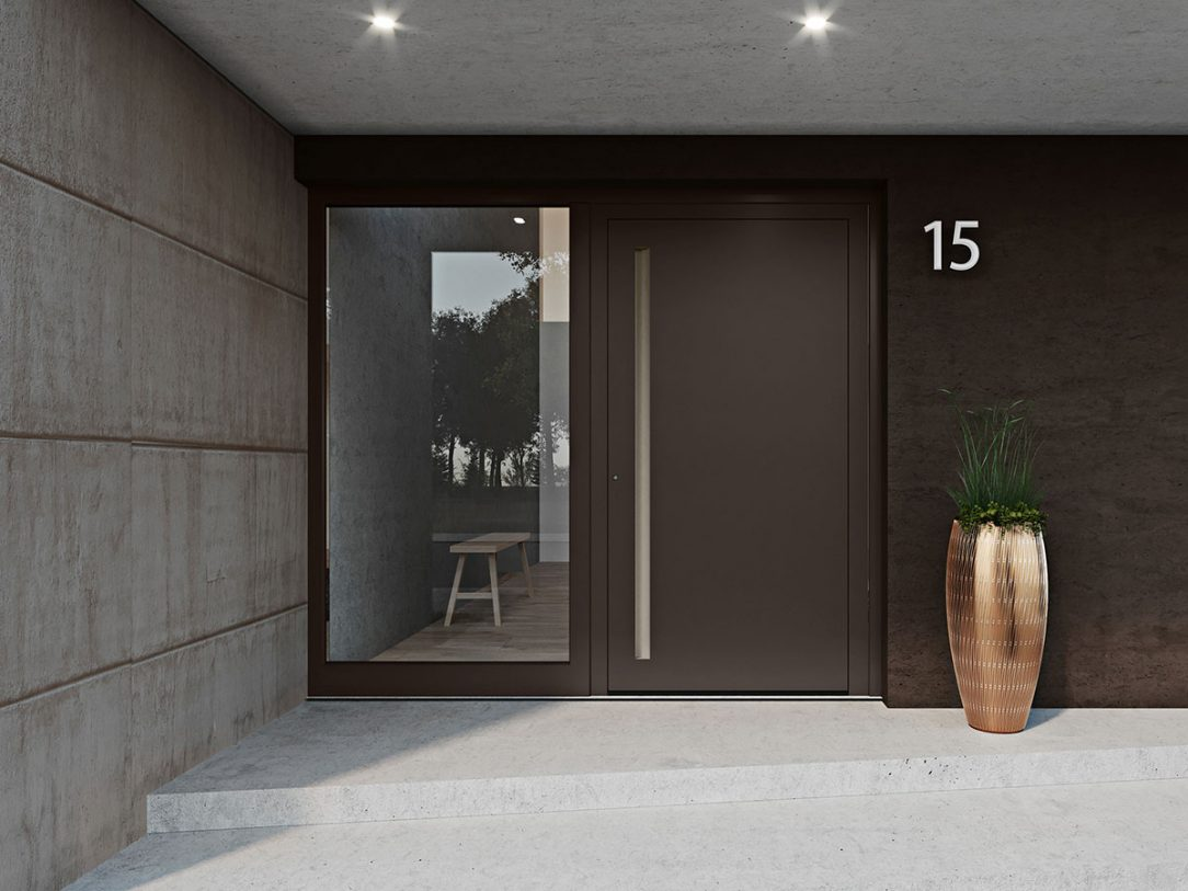 Systém vchodových dveří heroal D 72 se hodí pro všechny montážní situace v novostavbách nebo rekonstruovaných objektech ať už v exkluzivním a moderním nebo nadčasově elegantním provedení.