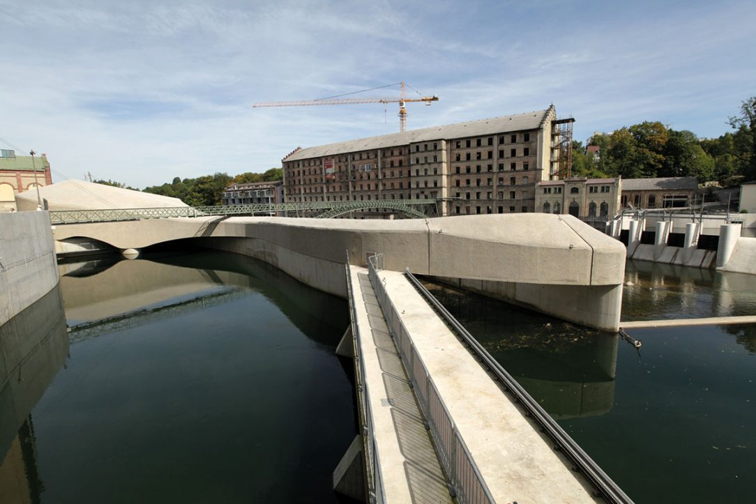 Vodní elektrárna Kempten Konstruktionsgruppe Bauen AG