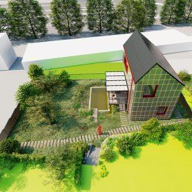 Za vítězným návrhem Českého soběstačného domu 2019 stojí Jiří Petrželka.