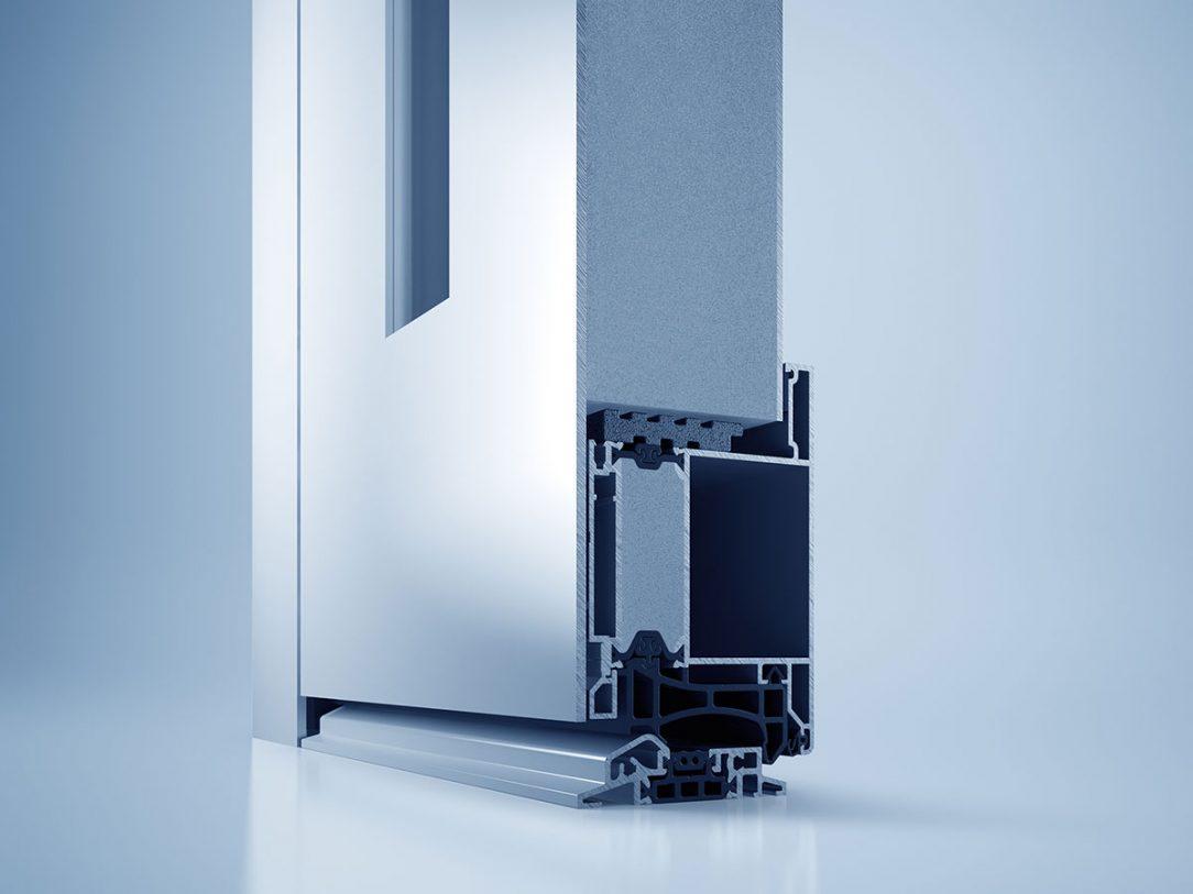 Zušlechťující povrchová úprava heroal SD je mimořádně odolná proti korozi povětrnostním vlivům a UV záření