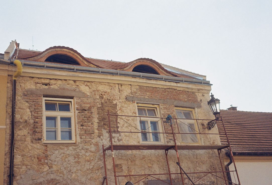 Nově osazená okna