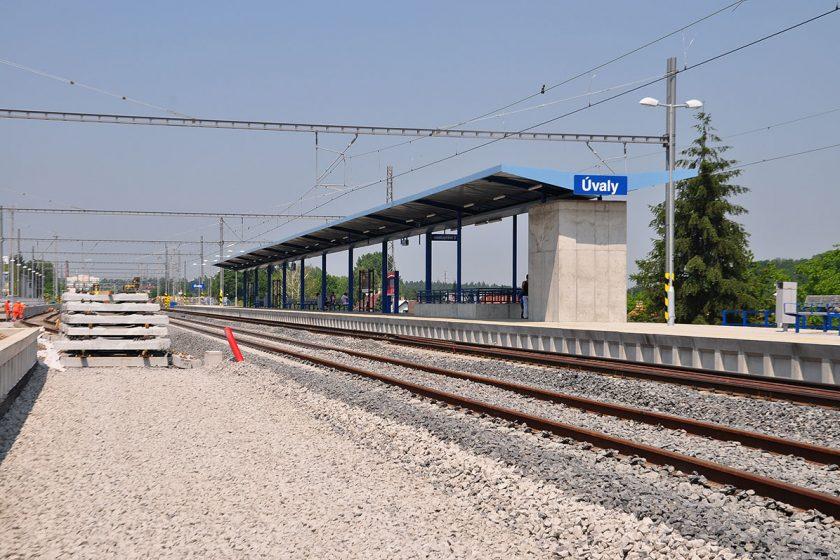 Železniční stanice Úvaly