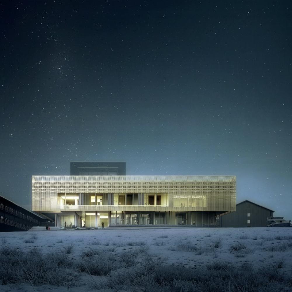 psychiatrické oddělení v grónském Nuuku je založeno na snaze vytvořit architekturu podporující léčení – plnou světla v kontaktu s přírodou