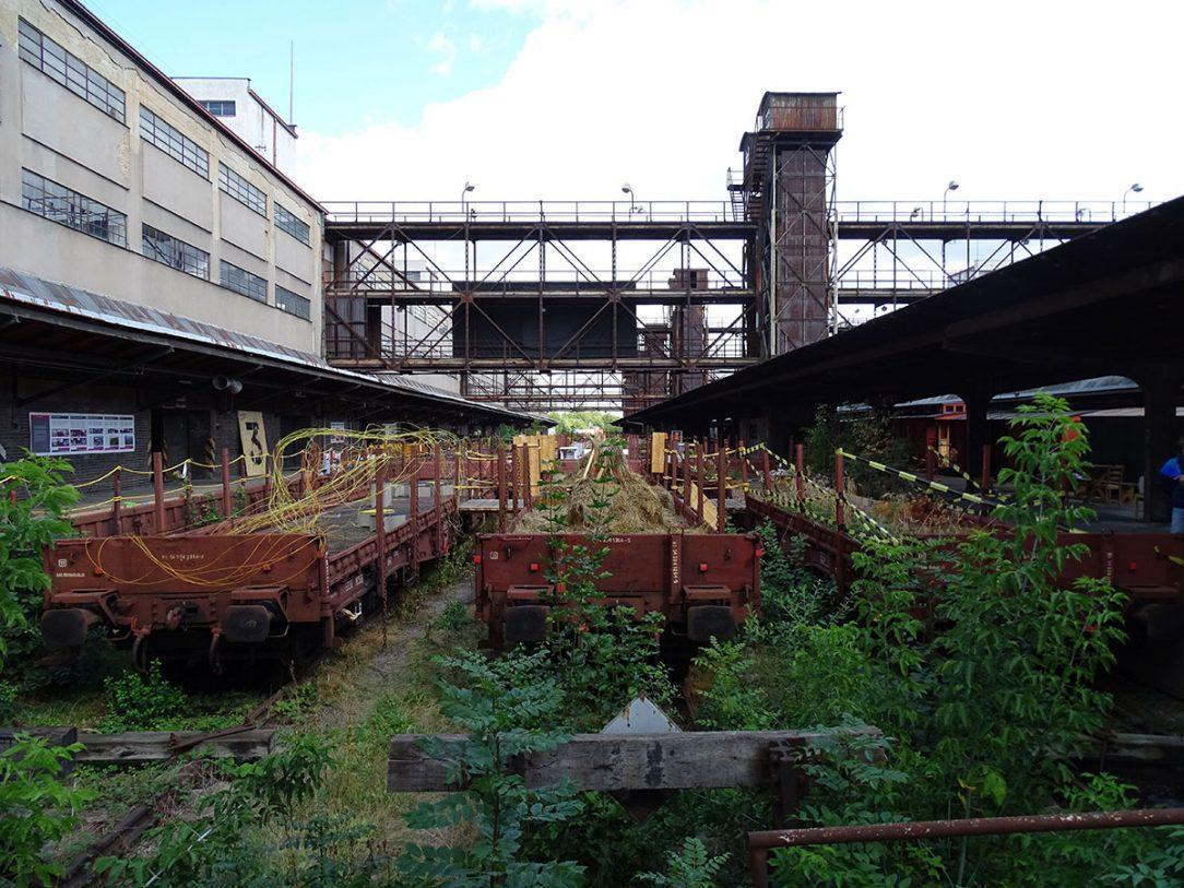 Industriální kontext je v místě architektonickou hodnotou.