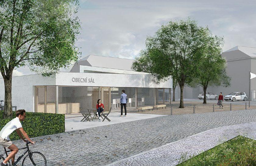 Kulturní život ve Středoklukách má probíhat také v novém obecním sálu.