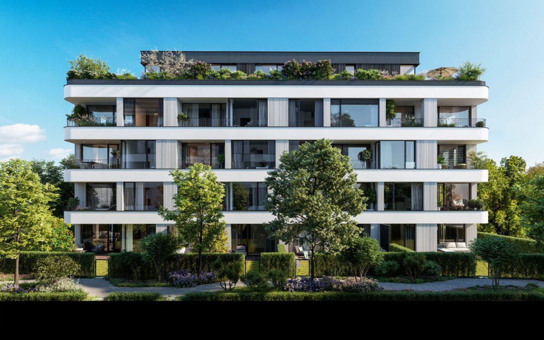 MAISON Ořechovka nabídne prémiové byty v dispozicích od 1kk až po střešní penthousy 6kk s překrásnými výhledy na Ořechovku Střešovice a Prahu 6.