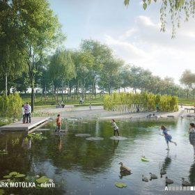 Návrh parku Motolka