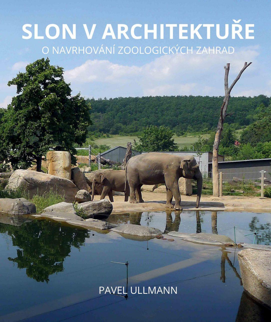 Obálka knihy Slon v architektuře