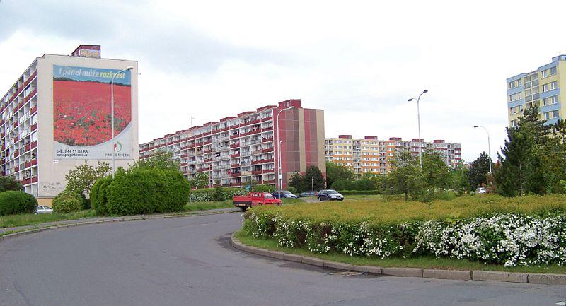 Paneláky v Praze