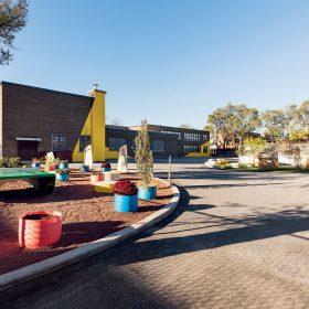 Rekonstrukce dvora mateřské školy École Sainte Anne 02