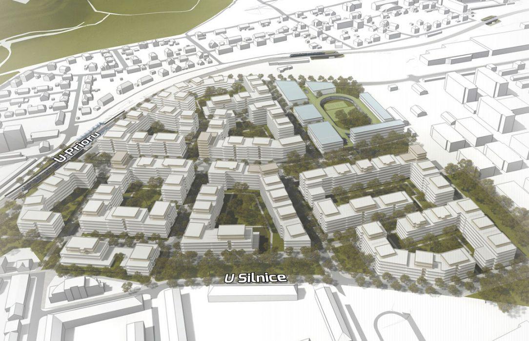 Součástí nové čtvrti by měla být také škola.
