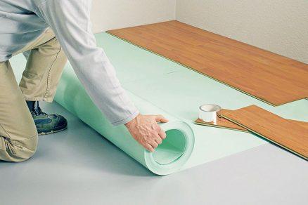 izolace objektu a podlahy