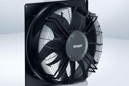Obr. 4 Ventilátory AxiBlade jsou výkonné a efektivní a fungují v široké škále aplikací.