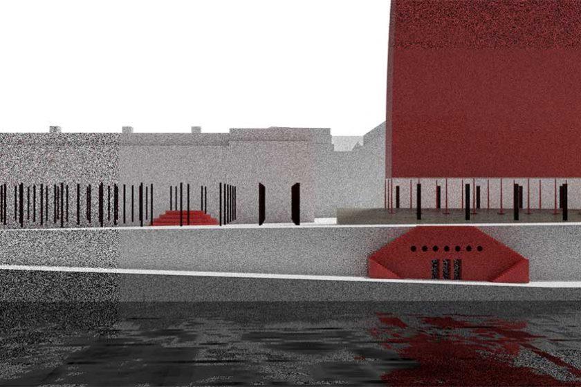 Vítězný projekt Nábřeží Lannova od Vojtěcha Rudorfera