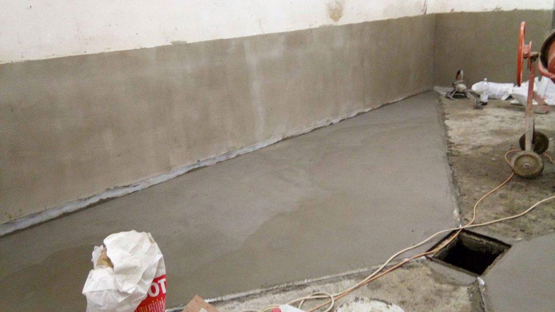 05 Izolace zdiva a podlahy vodotěsnou maltou WATERFIX XP TH