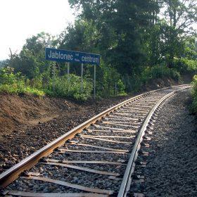 Obr. 5 Pražce Y použité v roce 2010 na trati Jablonec nad Nisou – Smržovka