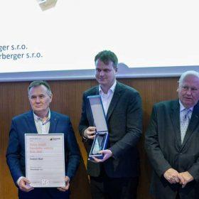Tepelněizolační systém iRoof značky Tondach získal dne 26. 2. 2020 ocenění Zlatá medaile Stavebních veletrhů Brno 2020.