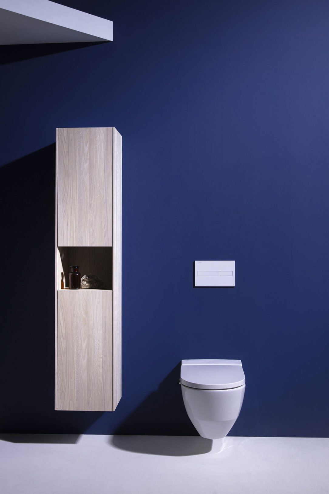 Minimalistický design se hodí do jakékoli koupelny a toaleta je k nerozeznání od běžné