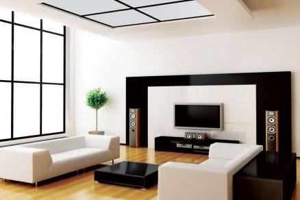Trend hladkých stěn v interiéru